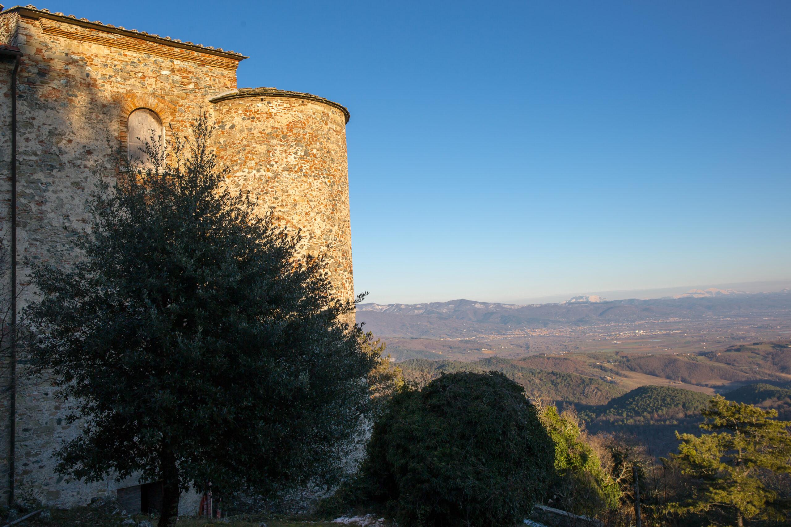 Castello di Montauto del Comune di Anghiari Dove San Francesco ricevette un nuovo saio
